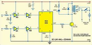 Microcontroller - Water Level Controller