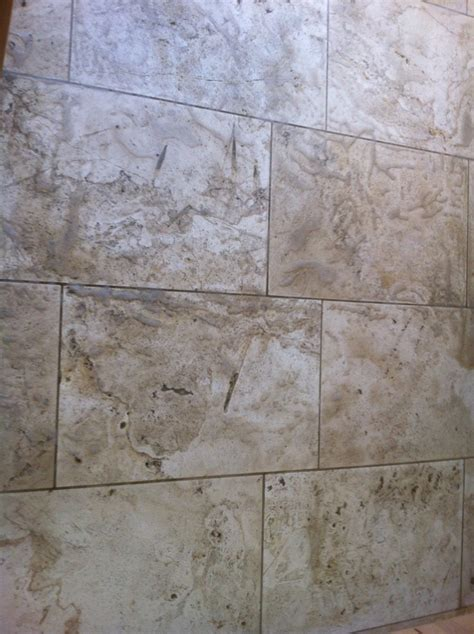 cleaning and sealing a honed travertine tile kitchen floor