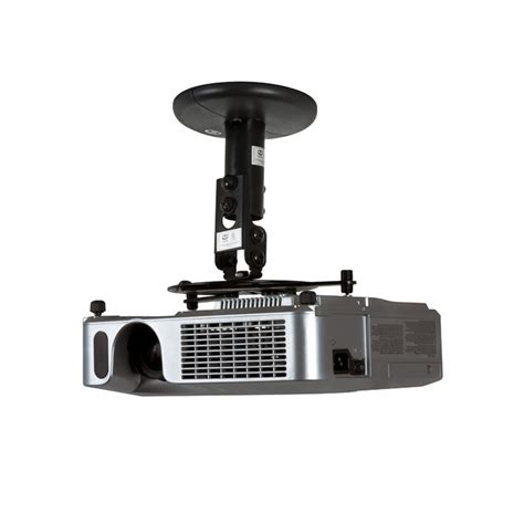 Best Projector Mount Drop Ceiling by B Tech Projector Ceiling Mount 190mm Drop Black Tradeworks