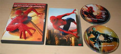 Spider-man Dvd 2-disc Set Special Edition Widescreen