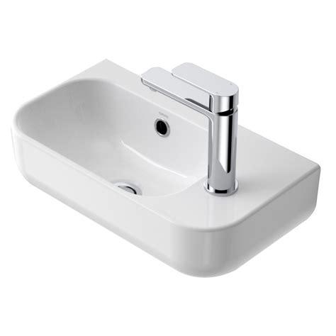 basins plumbing world caroma luna mm handwash basin