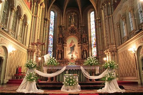 altar wedding decor 9 strikingly simple ideas on church decoration for wedding Church