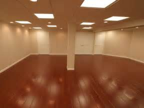 wood laminate basement floor finishing warranted basement flooring with wood design by ontario