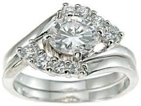big engagement rings big wedding rings