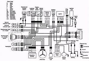 Kawasaki Klf185 Wiring Diagram    Wiring Diagram