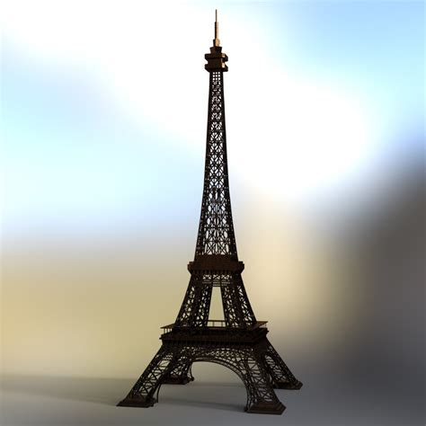 Eiffel Tower  For Daz Studio 3d Models Vanishingpoint