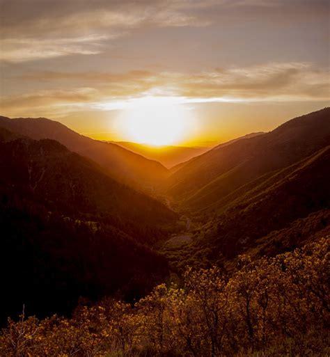 Landscape, Horizon, Silhouette, Cloud, Sun