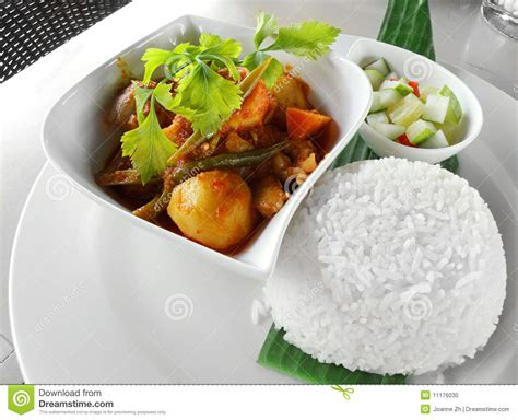 cuisine curry beautiful and tasty dish of rice and vegetables
