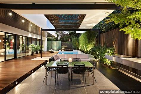 Backyard Entertaining Areas by 18 Outdoor Room Designs Completehome