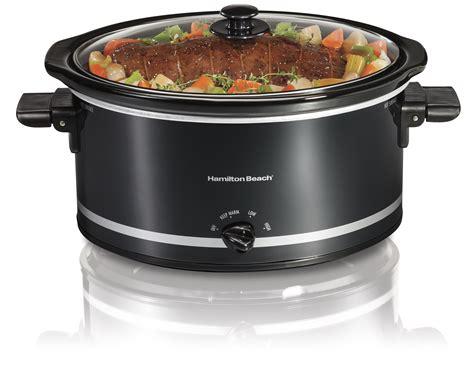 capacity hamilton beach dishwasher cooker slow safe quart extra