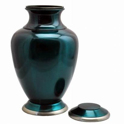 Urns Shiny Turquoise Cremation Specification Question Ask