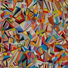 Famous Geometric Paintings  Paul Yanko 2 Geometric Mixed