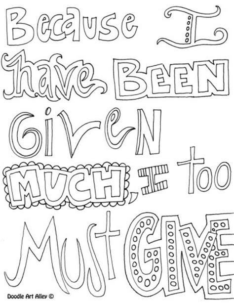 quote coloring pages all quotes coloring pages printable quotesgram