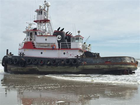 Tugboat Wod by Tugboat Runs Aground On Brigantine Breaking News