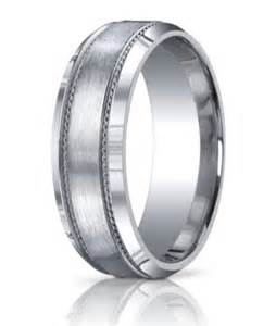 silver wedding bands mens designer argentium silver 39 s wedding band beveled edge 10mm