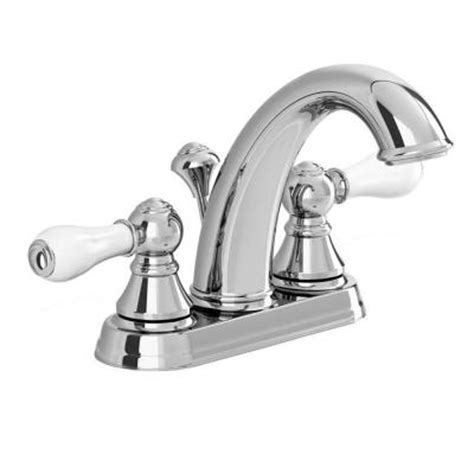 Bathroom Sink Faucets At Home Depot by American Standard Williamsburg 4 In Centerset 2 Handle