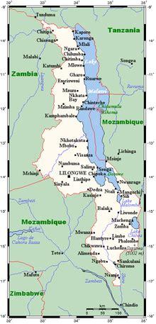 geography  malawi wikipedia