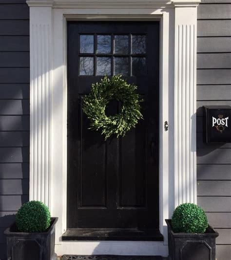 best 25 front door molding ideas on door