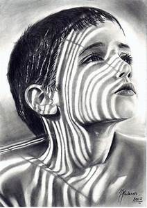 Charcoal Pencil Drawings ღ | Cool Patterns | Pinterest