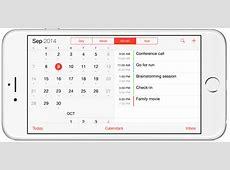 Google calendar default calendar on iPhone Vyte blog