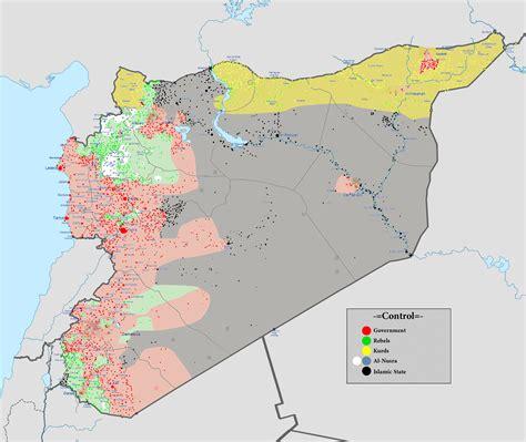 crowded syrian battlefield   turkish invasion