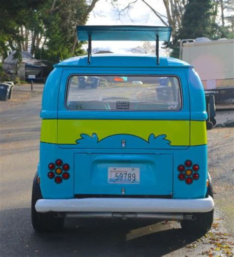 Purchase Used The Mystery Machine Scooby Doo Life Size