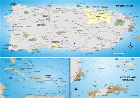 map  puerto rico travelsfinderscom