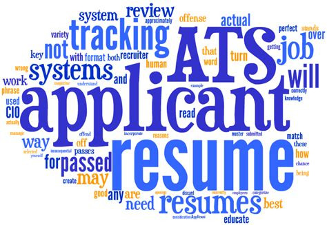 Resume Tracking System by Getting Noticed In An Applicant Tracking System World