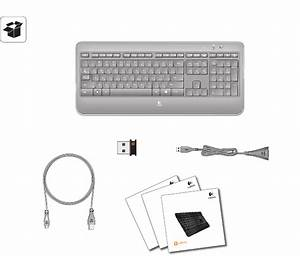 Download Logitech Computer Keyboard K800 Manual And User