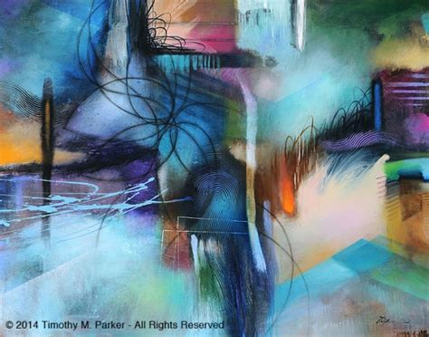 abstract paintings  timothy  parker ego alteregocom