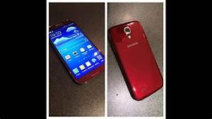 Samsung Galaxy S4 Red Aurora Unboxing