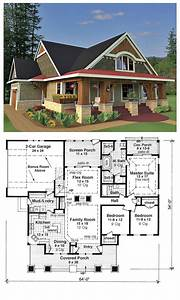 Craftsman, Bungalow, Style, Home, Plans
