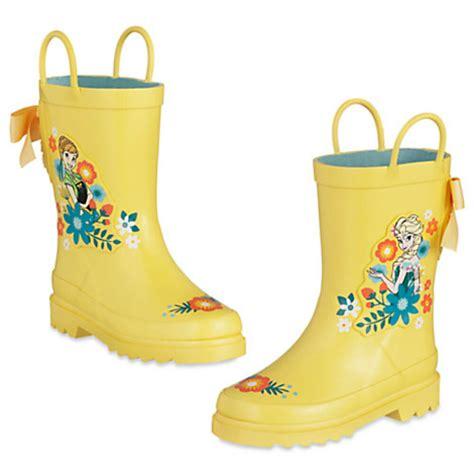 disney frozen anna  elsa rain boots  kids ebay