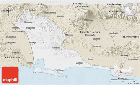 classic style  map  kab cilacap