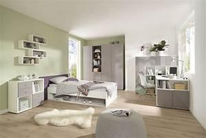 Schreibtischstuhl Jugendzimmer : jugendzimmer komplett alpinweiss lilac grey hochglanz ~ Pilothousefishingboats.com Haus und Dekorationen