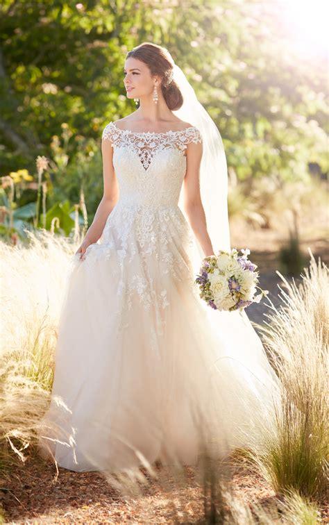 Boat Neck V Back Dress by Boat Neck Wedding Dress With Cap Sleeves And V Back