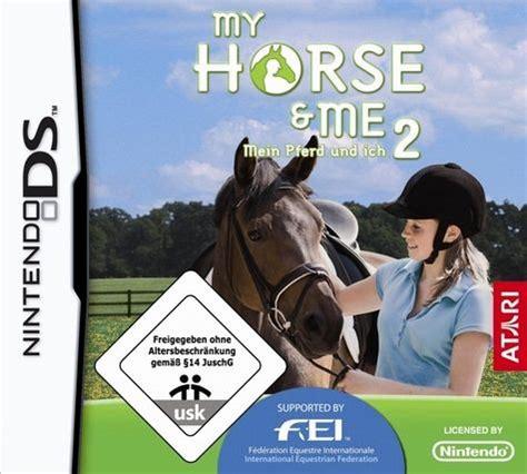 horse    mein pferd und ich nintendo ds