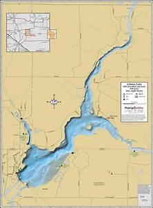 Arbutus Lake Wall Map