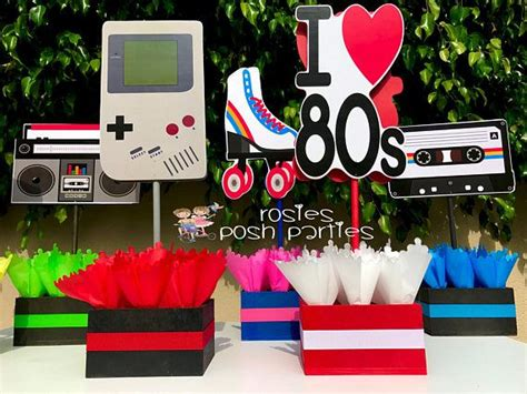 love   birthday bash party centerpieces  party