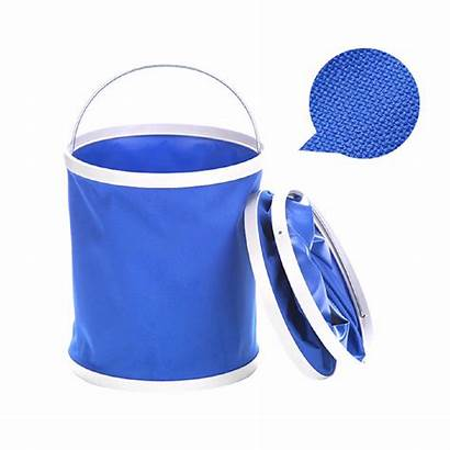 Pail Foldable Oxford Water Bucket Shopee Collapsible