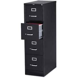 Lorell File Cabinet Slides by File Cabinets Vertical Lorell 174 4 Drawer Heavy Duty