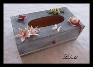 Boite Archive Deco : bo te mouchoirs d cor porcelaine froide g teaux en f te de lilou 25 ~ Teatrodelosmanantiales.com Idées de Décoration
