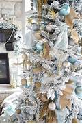 Luxurious Christmas Tree Decorating Ideas For School Decor And Vintage White Christmas Tree Ideas Home Design And Interior