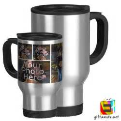 groom s gift to on wedding day personalized photo silver travel mug giftsmate