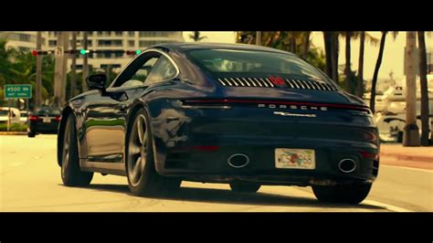 porsche  carrera  blue sports car  bad boys
