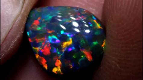 number one best black opal color found
