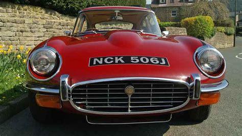 E-type Jaguar Hire Yorkshire, Lancashire, North West