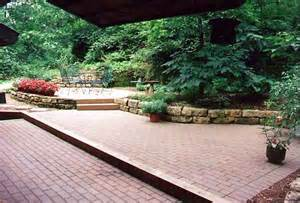 Image of: Brick Patio 39 Tiered Brick Patio   Designs For Your Garden