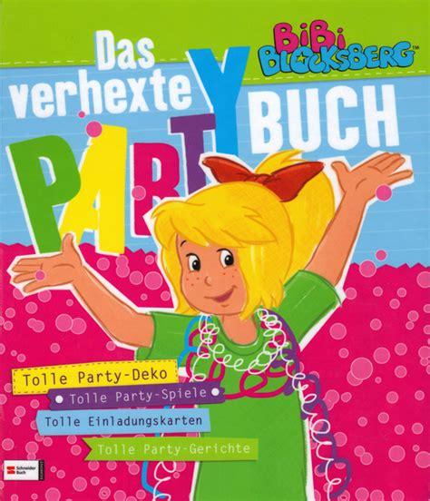 bibi blocksberg das verhexte partybuch von susanne