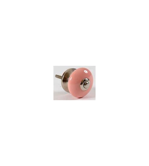 bouton de porte deco uni en porcelaine boutons mandarine